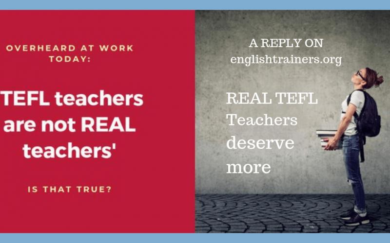 Real TEFL Teachers