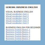 Business English Site