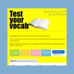 Test Your Vocab